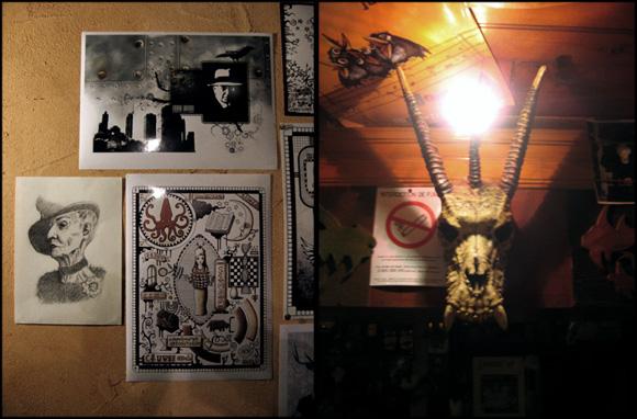 exposition à la Taverne de Morgane