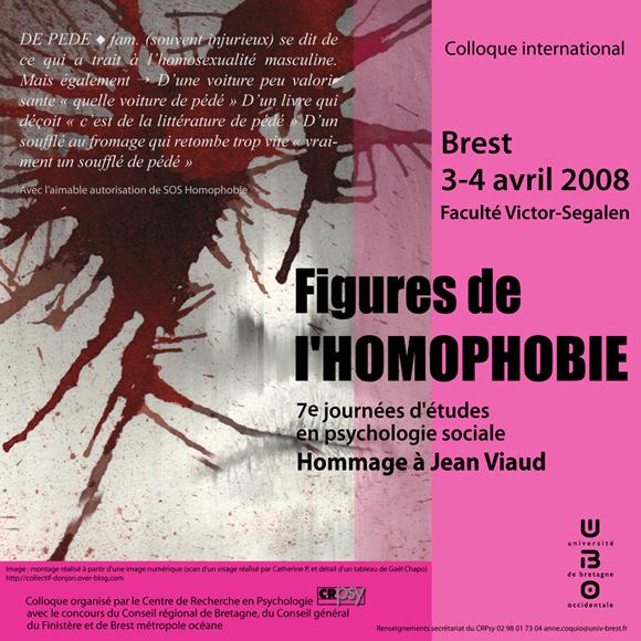 Figures de l'homophobie