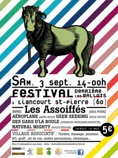 Festival Derrière les ballots 2011