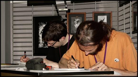 Zavata - Salon de la BD - Amiens 2010