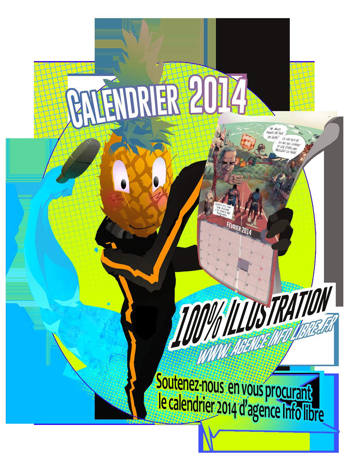 calendrier logo 2014