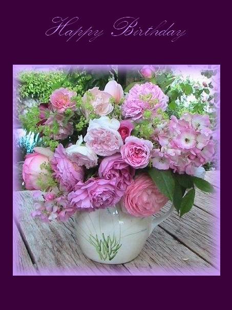 Roses et Alchemilles