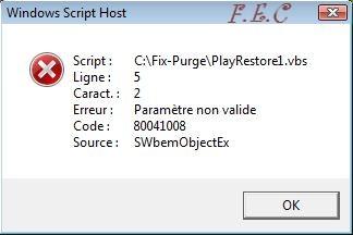 Tuto  Fix-Purge Fix-Purge_erreur