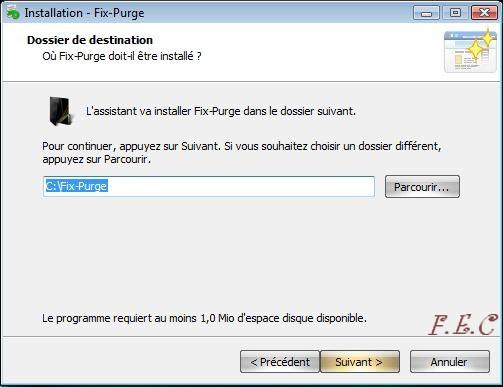 Tuto  Fix-Purge Fix-Purge_install2