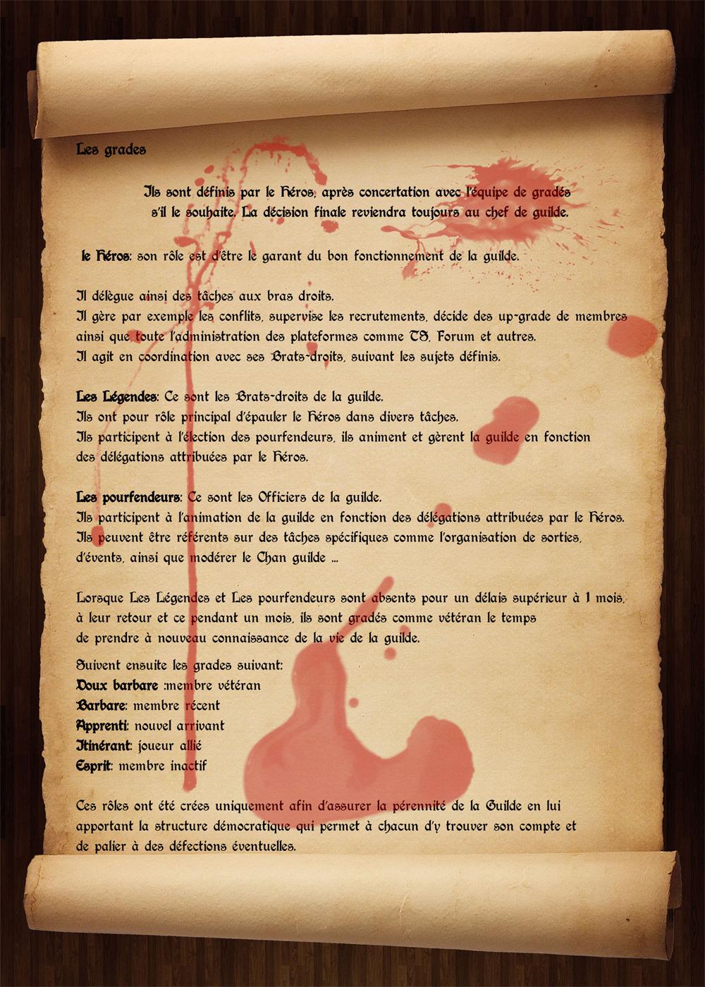 Règlement de la guilde Charte3