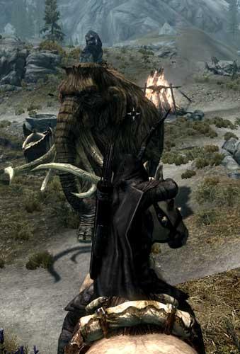 The elder scrolls V - BLABLA sur l'univers de Skyrim - Page 10 Arme-a-cheval