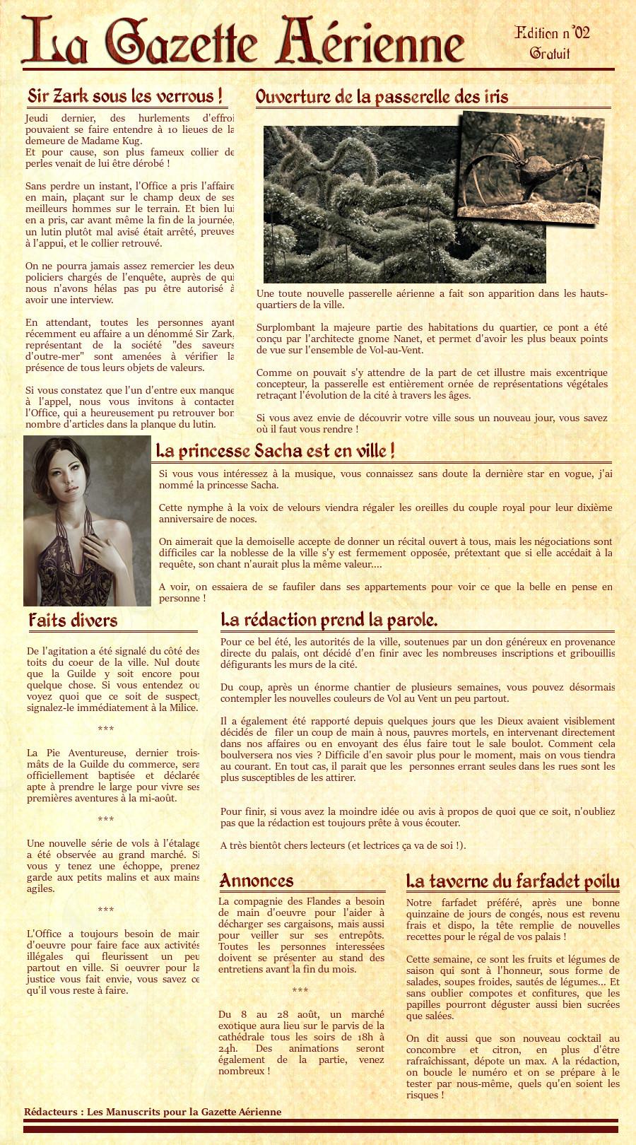 La Gazette Aérienne n°02 Gazette02