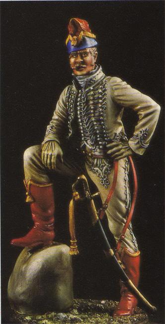 Officier de Hussard en Tenue de Nankin. (Il est fini,...enfin!) Nankin2