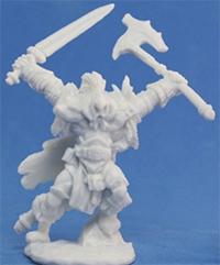 Guards of Atlantis : THE MOBA en carton et plastique Brogan_epic