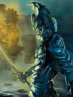 Guards of Atlantis : THE MOBA en carton et plastique Arien_stylish